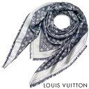 LOUIS VUITTON(ルイ・ヴィトン)レディース/メンズ/ストール/ショール・モノグラム デニム/M71386/ブルー【02P21Feb15】