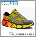 HOKA ONE ONE ホカCHALLENGER ATR2 チャレンジャーATR2 メンズGrey/Empire Yellow