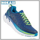 HOKA ONE ONE ホカオネオネCLIFTON4 クリフトン4 メンズTrue Blue/Jasmine Green