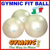 【あす楽◆今ならダブルアクションポンプをプレゼント】ギムニク・フィットボール65(パール) 直径65cm 適用身長160cm〜174cm(ギムニク バランスボール・ギムニクボール)