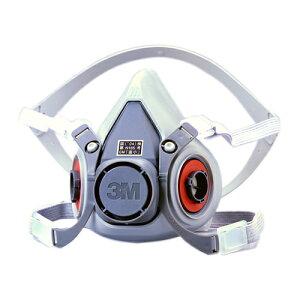 【3M/スリーエム】防毒マスク6000(半面形面体)【ガスマスク/作業】