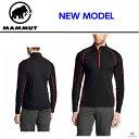 MAMMUT マムート ベースレイヤー 長袖 メンズ ジップ シャツ COMFORT 4S Zip Longsleeve Men メンズ 1041-09160 ...
