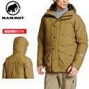 MAMMUT メンズ アウトドアウェア ドライテック プライム ダウンコート(DRYtech Prime Down Coat) ダウンジャケット 上着 アウター 1010-22950 4968 ■アウトドア 登山 ダウン 防寒 全天候型