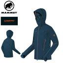 MAMMUT マムート [EIGERシリーズ]アイガー ノードワンドプロ HS フーデッドジャケット メンズ(Mammut Nordwand Pro HS Hooded Jacket Men's)1010-18170 5325■アウトドア 登山 スキー スノーボード ハードシェル