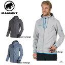 MAMMUT メンズ 【クライミング・ボルダリング】Mammut Logo ML Hooded Jacket Men マムートロゴ ML フーテッドジャケット メンズ 1010-23270 0819/0397/5784 ■アウトドア 登山 フリース 軽量