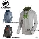 MAMMUT マムート 【クライミング・ボルダリング】Mammut Logo ML Hoody Men 1040-01380 マムートロゴ ML フーディ 00005/5833/00002■アウトドア パーカー 長袖