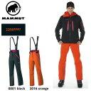 MAMMUT マムート 【EIGERシリーズ】ウィメンズ Mittellegi Pro Pants Women 1020-07461 0001/2016/black/orange GORE-TEX Pro ■登山/スキー/スノーボード/バックカントリー/アイガー