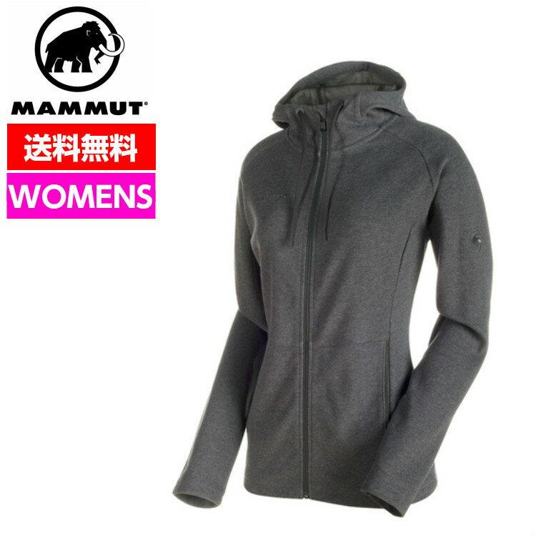 MAMMUT マムート 【SALE】 ジャケット レディース Mammut Logo ML Hooded Jacket Women マムートロゴ フーテッドジャケット1010-23280 1010-23280 ■アウトドア 登山 スウェット パーカー レディース 女性 クライミング ボルダリング