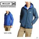 Millet ミレー トイ3D インシュレーテッド ストレッチフーディ MIV01313 7097 Majolica Blue■アウトドア 登山 ダウン 防寒