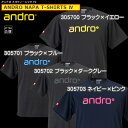 即納    andro アンドロ ナパTシャツ4 [×� ークカラー]JTTAマーク入り卓球用ゲームシャツ 卓球ユニフォーム[日本卓球協会公認] 卓球用品 ユニフォーム ユニホーム※注意※ヨーロッパサイズです。詳細はサイズ表参照※ RCP