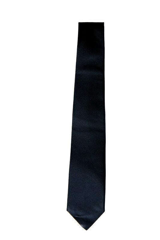 ◆【無地ネクタイ ネイビー】◆織り生地の無地ネクタイ、サテンとは違った上品さがポイント。【女子高生制服/リボン・ネクタイ/女子高生/制服】【コスプレ用品】【RCP】