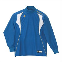 【DESCENTE】デサント PJ251-BLU ウィンドシャツ [ブルー][野球・ソフトボール][ウインドウェア]※DM便発送不可年度:14FW【RCP】の画像