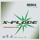 ■卓球ラバー メール便■【JOOLA】ヨーラ 70061R エクスプロード センシティブ X-PLODE SENSITIVE 【卓球用品】裏ソフトラバー/卓球/ラバ-【RCP】
