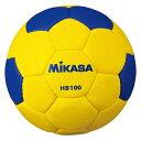 【MIKASA】ミカサHB100 ハンドボール検定球1号 ハンドボール検定球 屋外用 [黄/青][ハンドボール]【RCP】