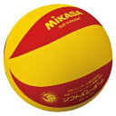 【MIKASA】ミカサ MSM78YR ソフトバレー 黄/赤 [バレーボール][ボール]年度:14【RCP】