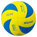 【MIKASA】ミカサ SLV4YBL バレーボール レッスンバレー4号 黄/青 [バレーボール][ボール]年度:14【RCP】