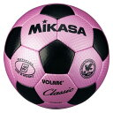【MIKASA】ミカサ SVC500PBK サッカーボール 検定球5号球 ピンク×ブラック[サッカー/ボール]年度:15【RCP】02P03Dec16