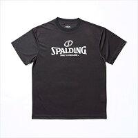 ▼SPALDING▼スポルディング SMT120010-BK ロゴTシャツ (BLACK)[シリーズ:バスケットボール/ウェア]年度:14SS【RCP】の画像