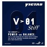 ■卓球ラバー メール便■【VICTAS】ヴィクタス 20351 V>01スティフ 【卓球用品】裏ソフトラバー/卓球/ラバー/ラバ-【RCP】