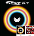 ★即納/あす楽★■卓球ラバー DM便送料無料■【Butterfly】バタフライ テナジー25FX 前陣