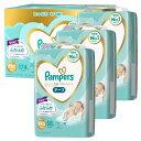 ショッピングパンパース netbaby Pampersパンパース おむつ 新生児サイズ (~5kg) テープ はじめての肌へのいちばん204枚(68枚×3パック)オムツ