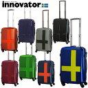 【送料無料】【TSAロック、2年間保証付】INNOVATOR スーツケース イノベーターレイヤード軽量ジッパータイプ 40L YL0921