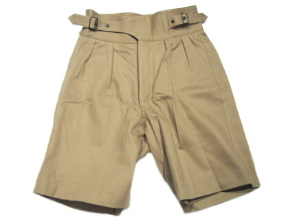 French Surplus Store Gurkha Shorts: Khaki