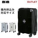ショッピング機内持ち込み アウトレット クロスプレート付き スーツケース 機内持込 SSサイズ ファスナータイプ (MEM モダニズム)B-M1001-Z49 旅行バッグ キャリーバッグ キャリーケース