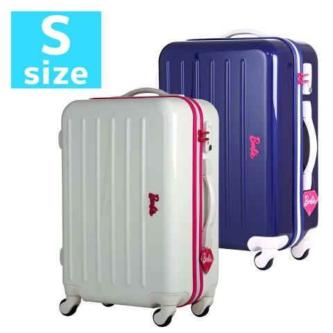 アウトレット 訳あり スーツケース キャリーケース キャリーバッグ 旅行鞄 小型 Sサイズ ハードケース エース Barbie バービー AE-06092