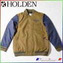 2015 ホールデン スノージャケット Coaches Jacket OLIVE-PEACOAT/L HOLDEN CJK-F14-N-JK-OLP-L align=