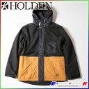 2015 ホールデン スノージャケット Edison Jacket Black/M HOLDEN EJK-F14-N-JK-BLK-M align=