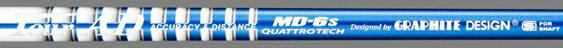 取寄せ商品 き:発送7営業日前後 グラファイトデザイン ツアーAD クアトロテック シャフト / Graphite Design Tour AD QUATTROTECH MD-6 shaft 安定した弾道と粘り感を重視したMD軽量モデル