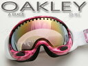 オークリー Aフレーム アジアンFIT 59-191J Amp'd Electric Pink/VR50 Pink Iridium OAKLEY