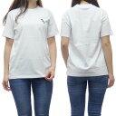 (エムエスジーエム)MSGM レディースクルーネックTシャツ 2841MDM212 207298 ホワイト