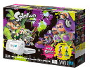 Wii U スプラトゥーン セット (amiiboアオリ・ホタル付き) Wii U【新品】保証書日付は店舗印、共に未記入