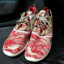 アディダス オリジナルス adidas ZX 8000 ブースト B26365 28cm クリームホワイト メンズ 靴 スニーカー シューズ 赤 レッド adidas 【中古】 【021217】