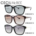 Bags, Accessories, Designer Items - セシルマクビー サングラス CECIL McBEE CMS1037 全3カラー 55サイズ アジアンフィット レディース