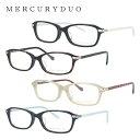 ショッピングオメガ マーキュリーデュオ メガネ MERCURYDUO 伊達 眼鏡 MDF8021 全4カラー レディース ブランドメガネ ダテメガネ ファッションメガネ 伊達レンズ無料(度なし・UVカット)