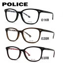ポリス メガネフレーム おしゃれ老眼鏡 PC眼鏡 スマホめがね 伊達メガネ リーディンググラス 眼精疲労 アジアンフィット POLICE VPL664J 全3カラー 51サイズ 国内正規品 ウェリントン ユニセックス メンズ レディース