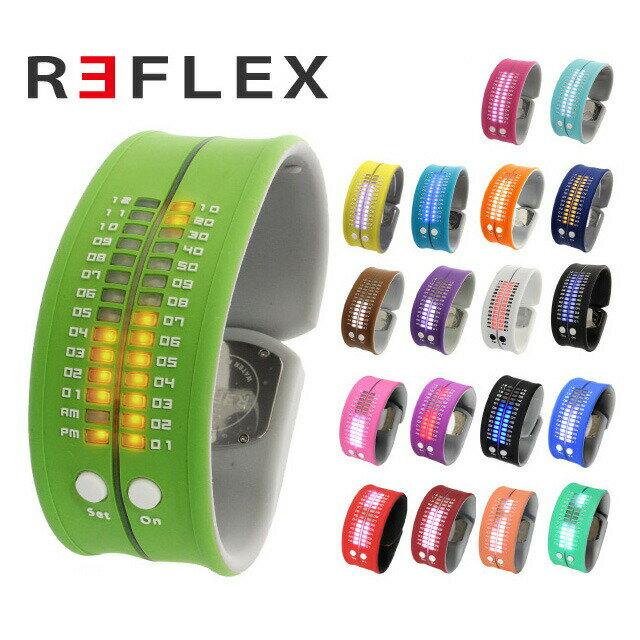 リフレックス 腕時計 REFLEX PD0019 全19カラー LED デジタル ウォッチ Digital Watch シリコン クォーツ 男女兼用 ユニセックス
