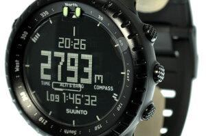 【国内正規品】スント腕時計SUUNTOウォッチCOREALLBLACKSS014279010(オールブラック)コア高度計気圧計コンパスアウトドア