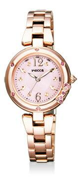 【シチズン】 CITIZEN wicca ウィッカ 腕時計 レディース KL4-966-91 ソーラーテック