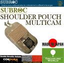 SUBROC(サブロック)ショルダーポーチマルチカム02P03Sep16