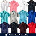 【スマホエントリーで更にポイント10倍】メール便 送料無料 アメリカンイーグル ポロシャツ メンズ