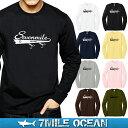メール便 送料無料 ビッグサイズ 7MILE OCEAN メンズ 長袖 tシャツ ロングTシャツ ロ