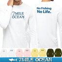 メール便 送料無料 7MILE OCEAN メンズ 長袖 tシャツ ロングTシャツ ロンTee インパクト おもしろ 人気 ブランド プリン...