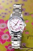 オレオール AUREOLE 腕時計 レディース ホワイト(サクラ) SW-591L-D