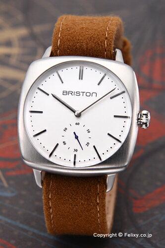 ブリストン BRISTON 腕時計 Clubmaster Vintage Smallsecond (クラブマスター ヴィンテージ スモールセコンド) ホワイトシルバー 16440.S.V.2.LFCA 【】 【ブリストン 時計 16440.S.V.2.LFCA】【送料無料】