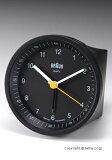 ブラウン 置き時計 BRAUN Alarm Clock (アラーム クロック) ラウンド ブラック BNC007BKBK