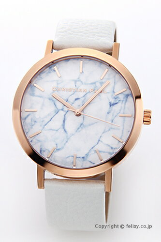 CHRISTIAN PAUL クリスチャンポール 腕時計 Marble Collection (マーブルコレクション) Whitehaven (ホワイトヘブン) MR-03 【あす楽】